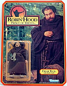 Friar Tuck (Battle Staff) from Robin Hood - Prince of Thieves Action Figure