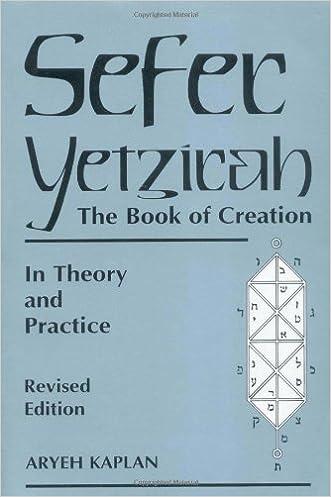 Sefer Yetzirah: The Book of Creation