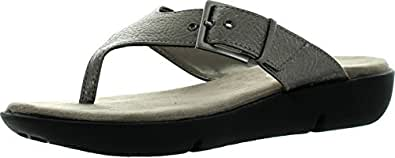 Aerosoles Women's Tex Mex Wedge Sandal,Silver,5.5