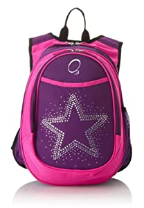 O3 Kid's All-in-One Pre-School Backpacks with Integrated Cooler, Rhinestone Star
