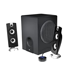 Cyber Acoustics 3 pc Subwoofer/Satellite System CA-3602