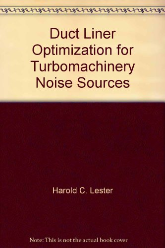 duct-liner-optimization-for-turbomachinery-noise-sources