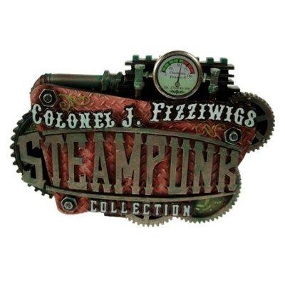 Colonel Fizziwig Steampunk Logo