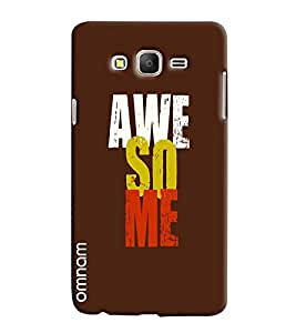 Omnam Stylish Awesome Printed Designer Back Cover Case For Samsung Galaxy On 5