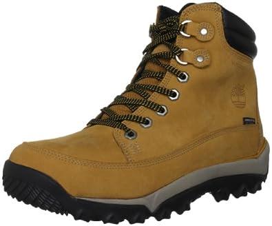 Timberland Men's Rime Ridge Boot,Black/Cinder,8.5 M US