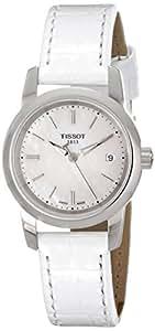 Tissot Women's TIST0332101611100 Classic Dream Analog Display Quartz White Watch