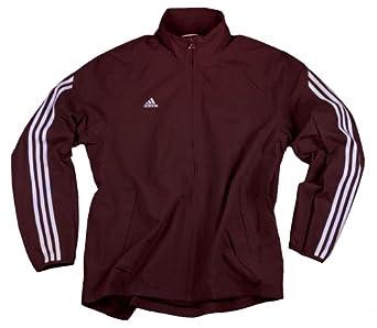Adidas Mens Athletic Lightweight Jacket (XX-Large, Maroon)