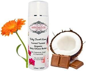 Yummi*Tummi Organic Baby Choco Butter, with Calendula, 3.3oz from Sweetsation Therapy
