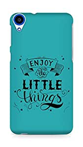 AMEZ enjoy the little things 2 Back Cover For HTC Desire 820