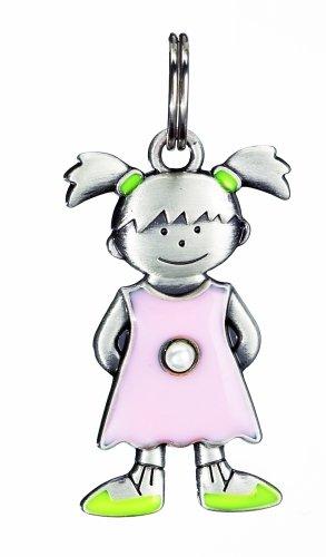 Birthstone Kid's Tag - Girl - June
