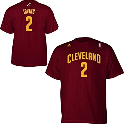 Adidas Cleveland Cavaliers Kyrie Irving Gametime T-Shirt Extra Large