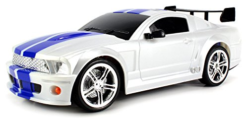 Ford Mustang GT500 KR Remote Control RC Car 1:14 Scale Size RTR w/ Rechargeable Battery (Colors May Vary) (Mustang Battery Car compare prices)