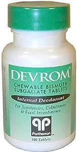 devrom internal deodorant tablets