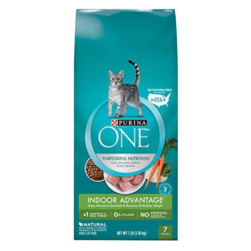 Purina ONE Indoor Advantage Adult Dry Cat Food - 7 lb. Bag