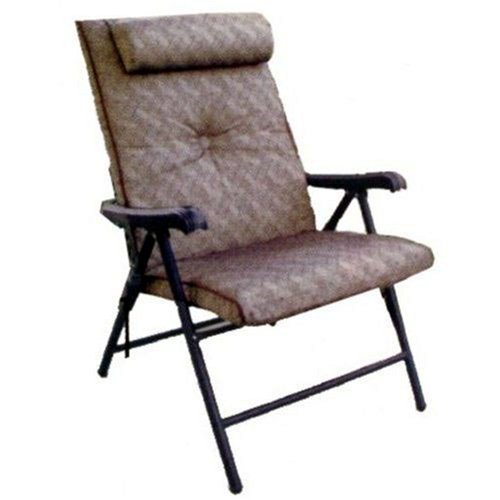 Prime Plus Folding Patio Chair – Brown