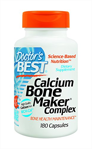 Doctors Best Calcium Bone Maker Complex, 180 Caps