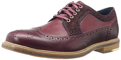 Cole Haan Men's Cooper SQ WingtipTawny Port/Tawny Port Grain7 W US