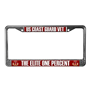 Amazon Com Cafepress Pride Us Coast Guard License Plate