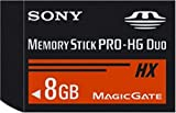 Sony MSHX8G 8GB Memory Stick PRO-HG Duo + USB