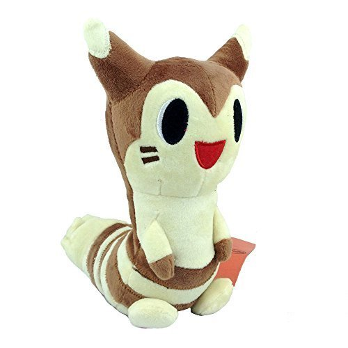 Generic Furret Normal Pokemon Plush Soft Toy Tail Ferret Stuffed Animal From Sentret Soft Figure Doll 9""
