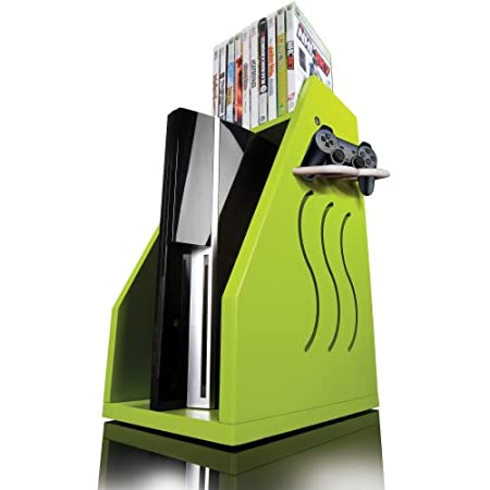 GameOn Video Gaming Console Storage - Green