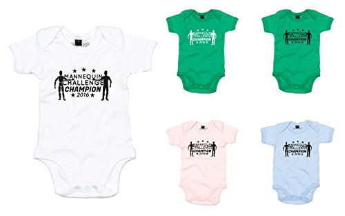 Brand88 – Mannequin Challenge Printed Baby Grow