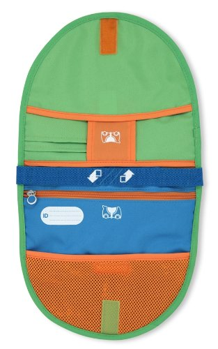 Melissa & Doug Trunki Saddlebag - Blue/Green