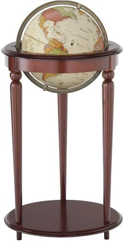 Gannon World Floor Globe - 12 Inch Diameter