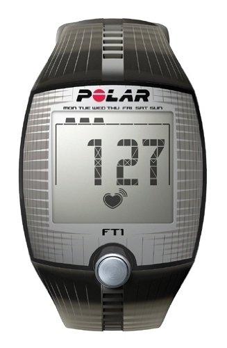 POLAR(ポラール) ハートレートモニター フィットネスモデル FT1 グレー 90051025 [日本正規品]