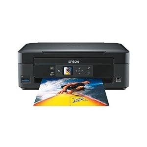 Epson - Stylus SX 430W - Imprimante multifonctions jet d'encre couleur 3 en 1 - Wi-Fi - Port USB - Noir