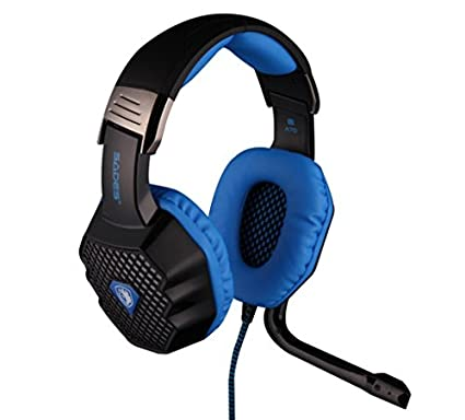 Sades A70 Over Ear Gaming Headset