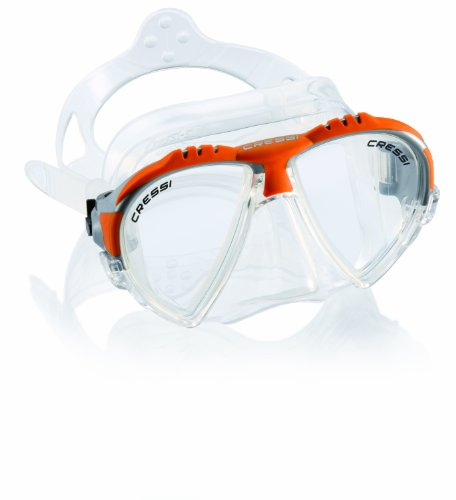 cressi Tauchmaske matrix, orange, DS301085