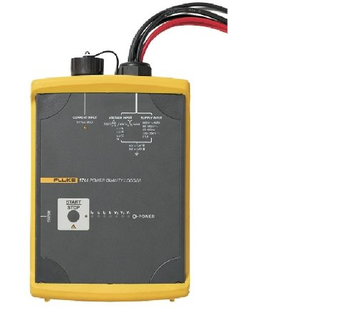 "Fluke 1744/1Ph 1 Phase Power Quality Logger, Led Display, 0.1% Accuracy, 32 To 95 Degrees F Temperature Range, 69"" Length X 51"" Width X 22"" Height"