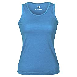 Huetrap Women's Turq Blue Tank Top