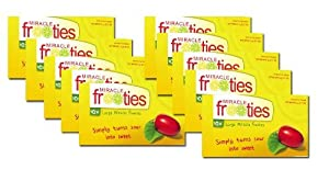 Miracle Frooties Miracle Fruit Berry Tablets XL 600 Mg (Ten Packs)