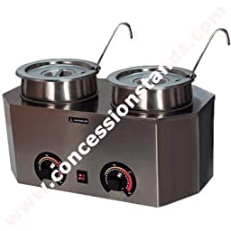 Paragon - Manufactured Fun 2029A Pro-Deluxe Warmer-Dual with Ladles