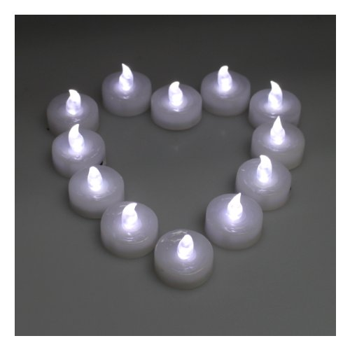 100pcs Tea Light Wedding Party Flameless LED