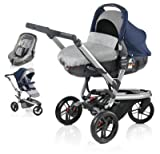Jane Trider and Matrix Light 2 Travel System - Blue Moon Blue/Grey