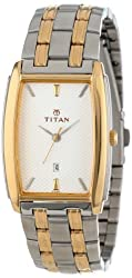 Titan Regalia Analog Silver Dial Mens Watch - NE1163BM01