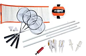 Buy Triumph Sports Advanced Volleyball Badminton Combo Set by Triumph Sports