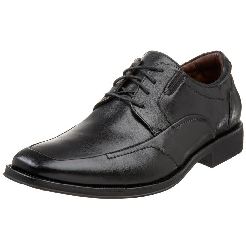 Johnston & Murphy Men's Stricklin Moc Lace-Up,Black,8 M US