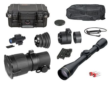 ATN PS22-CGTI Day/Night Hunter Kit w/ Leupold VX-II 3-9x40mm NVDNPS22CILH3