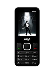 Rage Bold 2405 Dual SIM with Camera FM Bluetooth MP3 Player (Black+Grey)