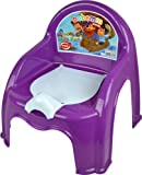 PURPLE CHILDRENS POTTY CHAIR EASY CLEAN KIDS TODDLER TRAINING TOILET SEAT BOYS GIRLS