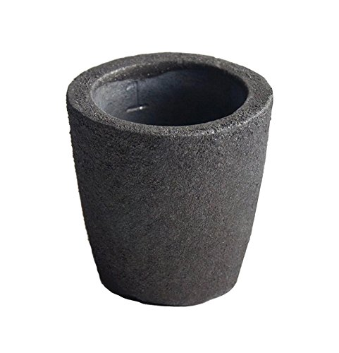 #1 - 1 Kg Foundry Clay Graphite Crucible Furnace Torch Melting Casting Refining Gold Silver Copper Brass Aluminum (Metal Melting Furnace compare prices)