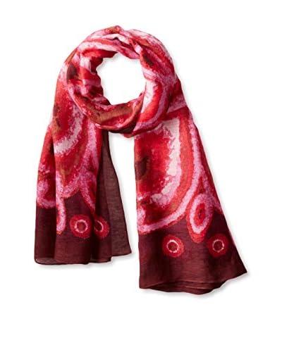 Theodora & Callum Women's Agalega Tie All Scarf, Pink/Multi