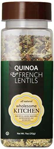 Wholesome Kitchen Quinoa And French Lentils, 11-Ounce