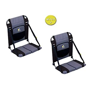 Click to buy Black Sturdy Canoe Seats from Amazon!