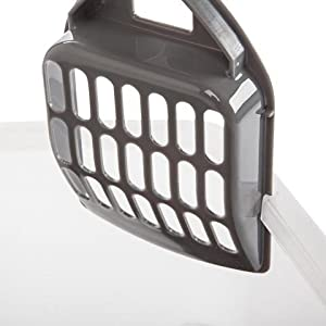 Cat Kitty Pet Litter Box Enclosure Plastic Large Pan Easy Clean Best Seller Open Top with Litter Scoop , Made in the USA & eBook by Easy2Find