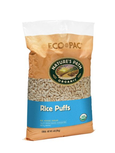 Nature's Path Organic Rice Puffs Cereal, 6-Ounce Bags (Pack of 12) (Wheat Free Market Baking Mix compare prices)